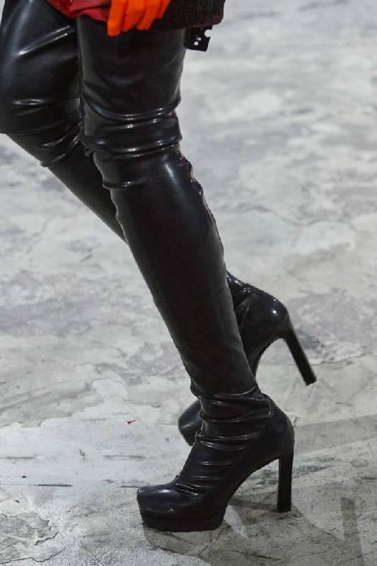 bottes lisses