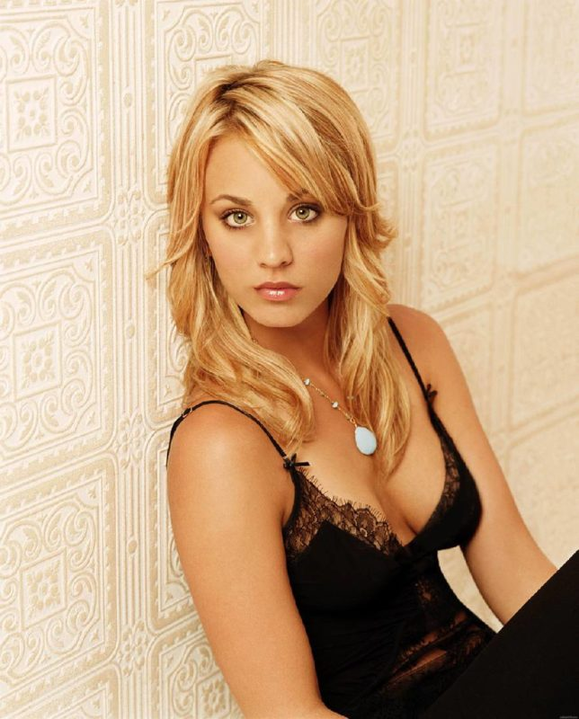 kaley cuoco-probleme-tournage-the-big-bang-theory-rupture