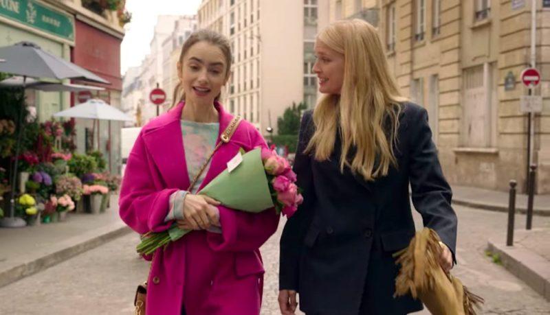 Le look de Camille dans «Emily in Paris» parfait pour votre prochaine sortie