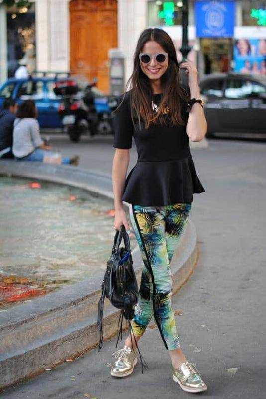 legging look