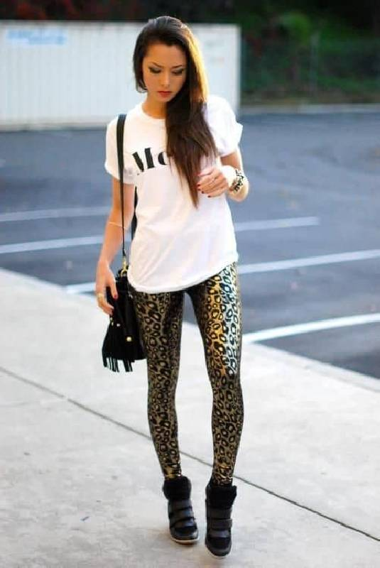 legging imprimé animal