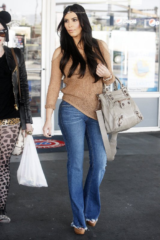 Le style bohème de Kim Kardashian
