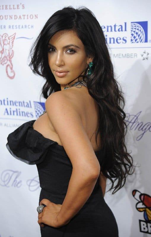 Maquillage, coiffure et beauté de Kim Kardashian