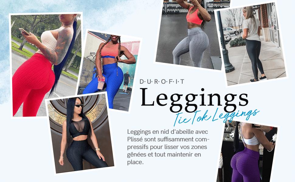 Legging TikTok : un legging qui sublime tous les fessiers et disponible dès 6€